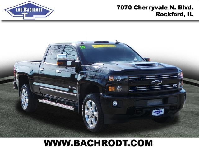 2018 Silverado 2500 Crew Cab 4x4,  Pickup #18229 - photo 3