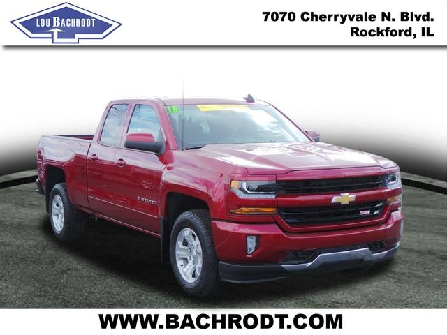 2018 Silverado 1500 Double Cab 4x4,  Pickup #18261 - photo 3