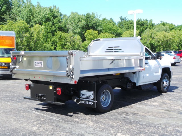 2018 Silverado 3500 Regular Cab DRW 4x4,  Monroe Dump Body #18412 - photo 2