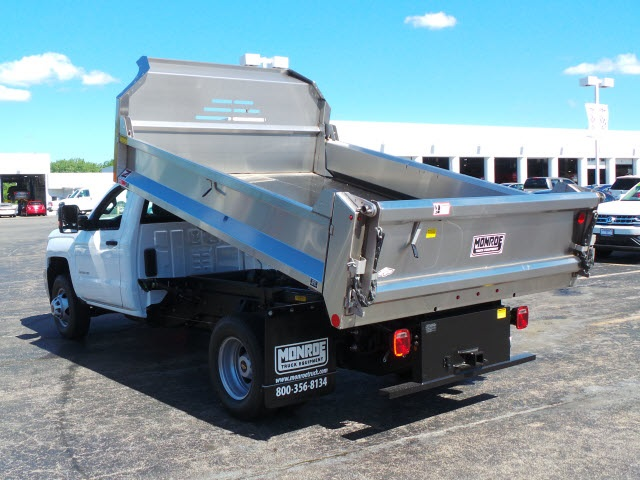 2018 Silverado 3500 Regular Cab DRW 4x4,  Monroe Dump Body #18412 - photo 20