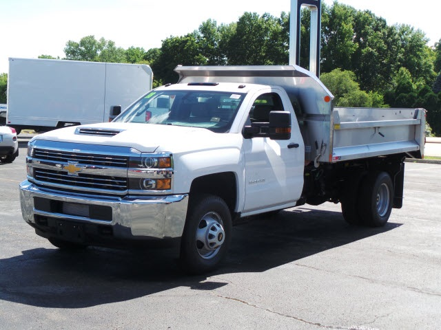 2018 Silverado 3500 Regular Cab DRW 4x4,  Monroe Dump Body #18412 - photo 5