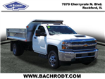2018 Silverado 3500 Regular Cab DRW 4x4,  Monroe Dump Body #18412 - photo 1