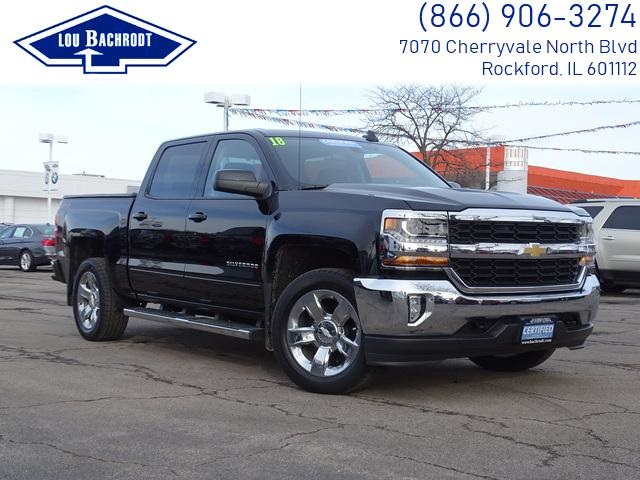 2018 Silverado 1500 Crew Cab 4x4,  Pickup #18483 - photo 3