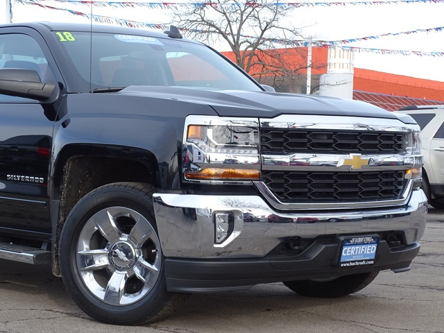 2018 Silverado 1500 Crew Cab 4x4,  Pickup #18483 - photo 4