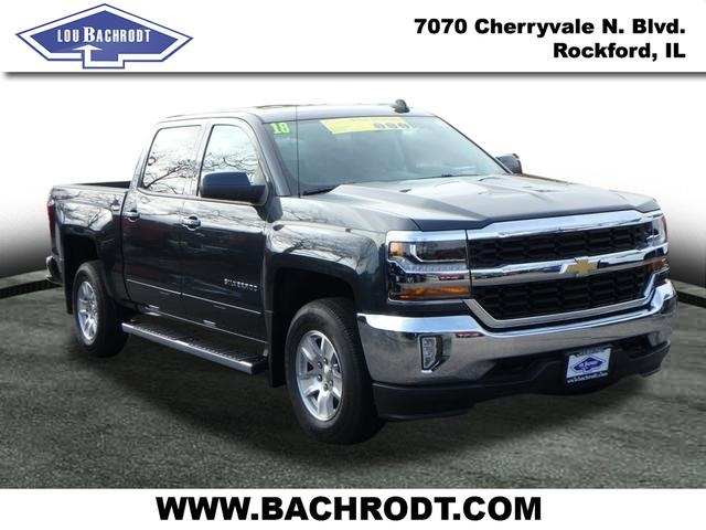 2018 Silverado 1500 Crew Cab 4x4,  Pickup #18493 - photo 1