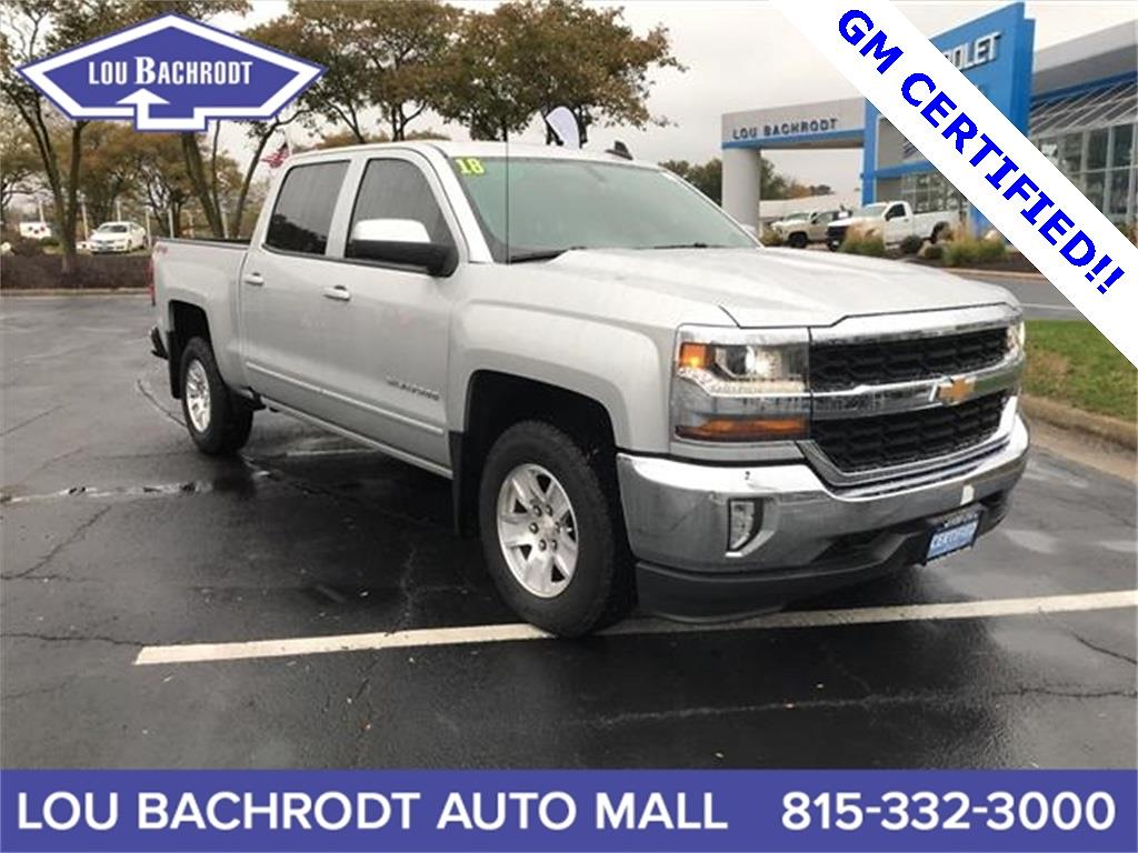2018 Silverado 1500 Crew Cab 4x4,  Pickup #18518 - photo 1