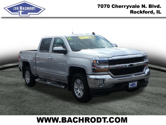2018 Silverado 1500 Crew Cab 4x4,  Pickup #18532 - photo 3