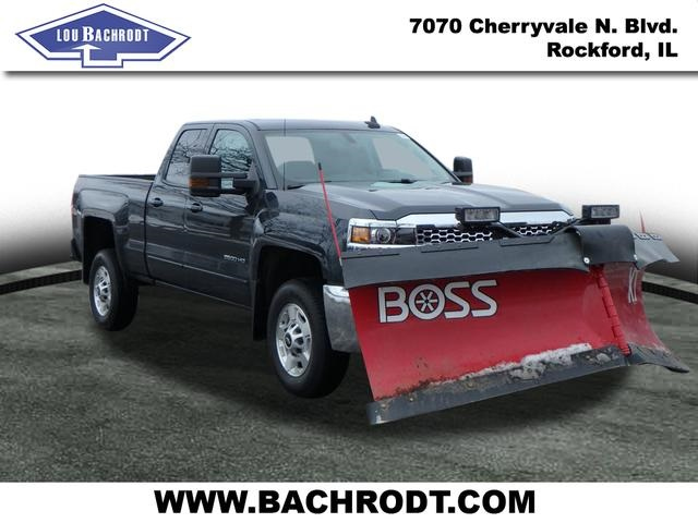 2019 Silverado 2500 Double Cab 4x4,  BOSS Snowplow Pickup #19163 - photo 1