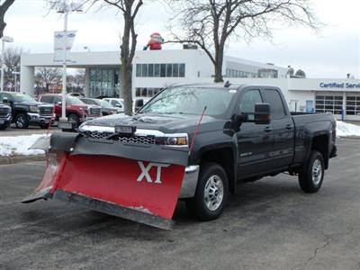 2019 Silverado 2500 Double Cab 4x4,  BOSS Snowplow Pickup #19163 - photo 5