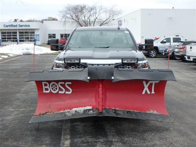 2019 Silverado 2500 Double Cab 4x4,  BOSS Snowplow Pickup #19163 - photo 6