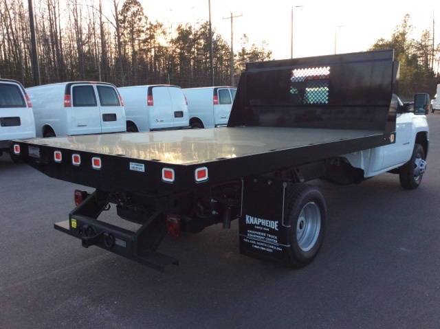 2016 Silverado 3500 Regular Cab, Knapheide Platform Body #GF274631 - photo 5
