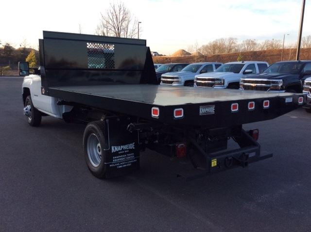 2016 Silverado 3500 Regular Cab, Knapheide Platform Body #GF274631 - photo 2