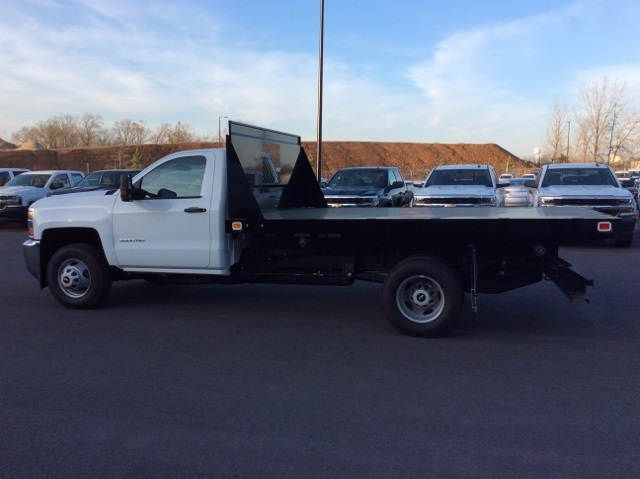 2016 Silverado 3500 Regular Cab, Knapheide Platform Body #GF274631 - photo 7