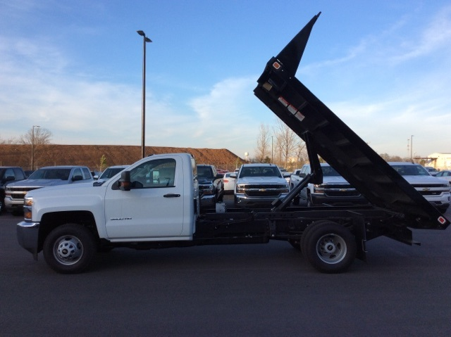 2016 Silverado 3500 Regular Cab, Knapheide Platform Body #GF274631 - photo 8