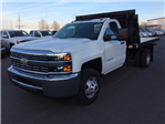 2016 Silverado 3500 Regular Cab, Knapheide Platform Body #GF274631 - photo 1
