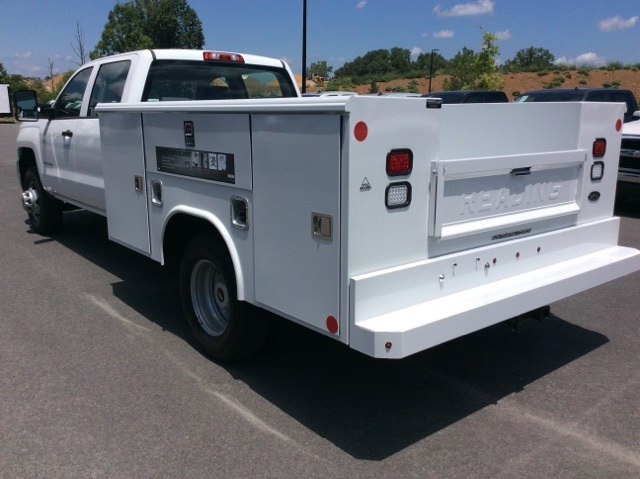 2017 Silverado 3500 Crew Cab DRW, Reading Classic II Steel Service Body #HF135414 - photo 2