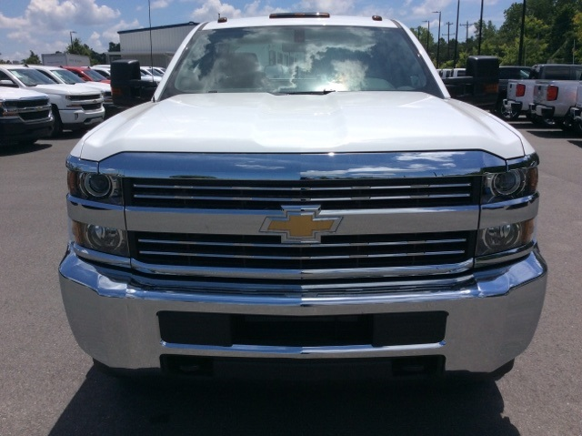 2017 Silverado 3500 Crew Cab DRW, Reading Classic II Steel Service Body #HF135414 - photo 9