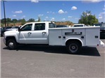 2017 Silverado 3500 Crew Cab DRW, Reading Classic II Steel Service Body #HF135414 - photo 8