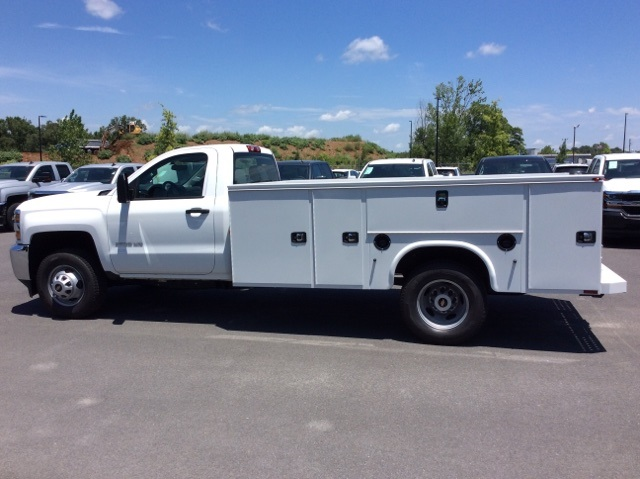2017 Silverado 3500 Regular Cab DRW 4x4, Knapheide Service Body #HF176153 - photo 8