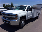 2017 Silverado 3500 Regular Cab DRW 4x4, Knapheide Service Body #HF176153 - photo 1