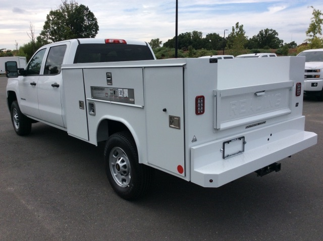 2017 Silverado 2500 Crew Cab, Reading Service Body #HF202982 - photo 2