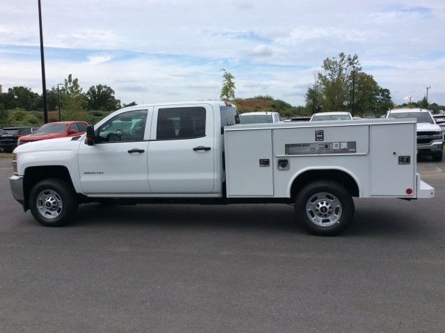 2017 Silverado 2500 Crew Cab, Reading Service Body #HF202982 - photo 8