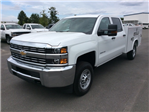 2017 Silverado 2500 Crew Cab, Reading Service Body #HF202982 - photo 1