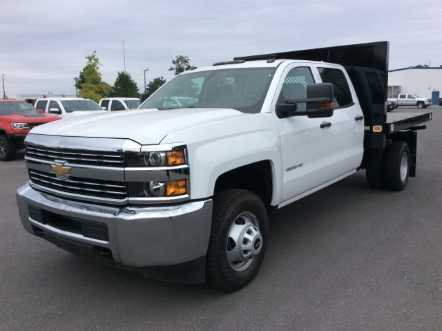 2017 Silverado 3500 Crew Cab DRW, Knapheide Value-Master X Platform Body #HF211008 - photo 1