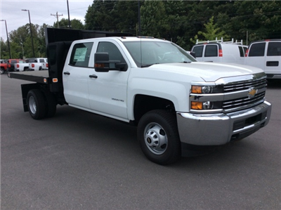 2017 Silverado 3500 Crew Cab DRW, Knapheide Value-Master X Platform Body #HF211008 - photo 3