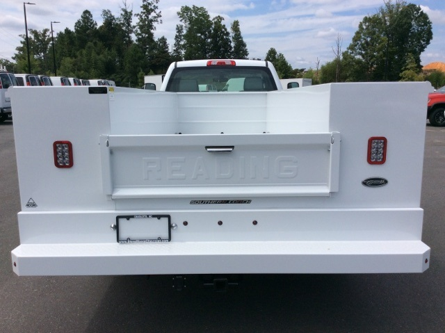 2017 Silverado 3500 Regular Cab DRW, Reading Service Body #HF214964 - photo 6