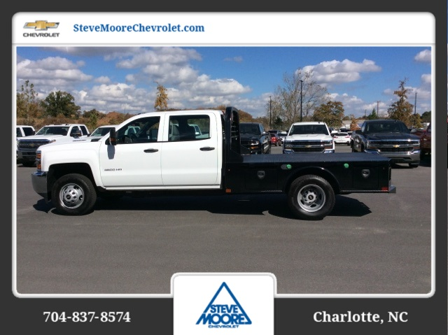2017 Silverado 3500 Crew Cab DRW, CM Truck Beds SK Model Platform Body #HF217011 - photo 7