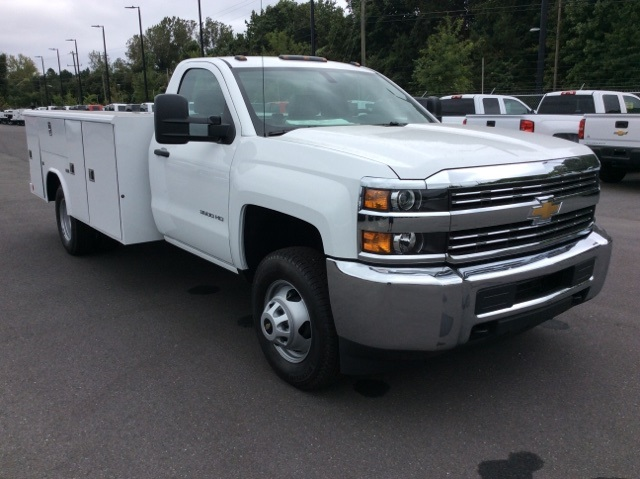 2017 Silverado 3500 Regular Cab DRW, Reading Service Body #HF219901 - photo 3
