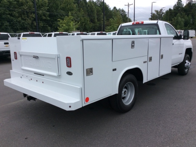 2017 Silverado 3500 Regular Cab DRW, Reading Service Body #HF219901 - photo 5