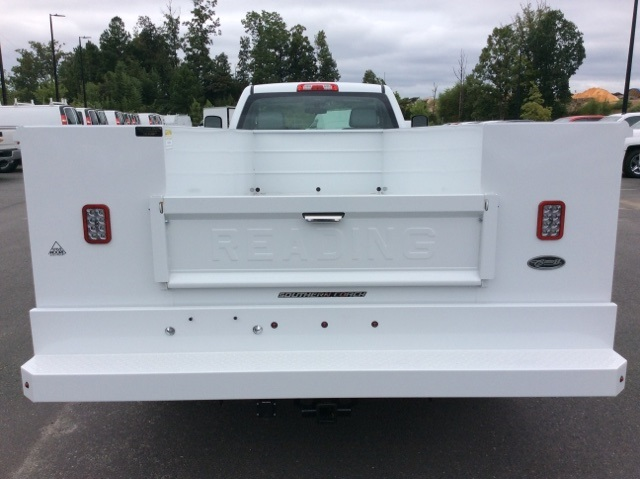 2017 Silverado 3500 Regular Cab DRW, Reading Service Body #HF219901 - photo 6