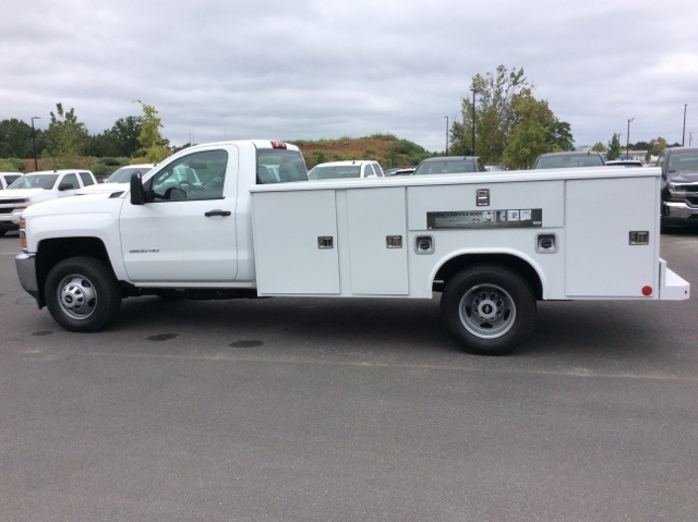 2017 Silverado 3500 Regular Cab DRW, Reading Service Body #HF219901 - photo 8