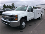 2017 Silverado 3500 Regular Cab DRW, Reading Service Body #HF219901 - photo 1