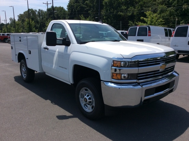 2017 Silverado 2500 Regular Cab 4x4, Knapheide Service Body #HZ329751 - photo 3