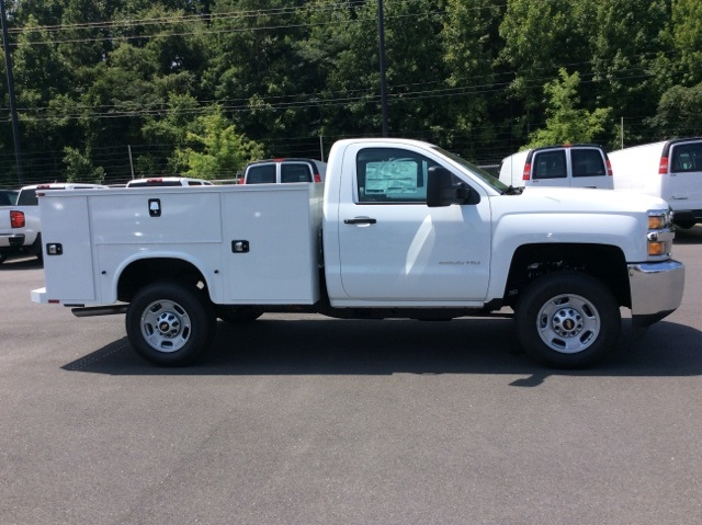 2017 Silverado 2500 Regular Cab 4x4, Knapheide Service Body #HZ329751 - photo 4