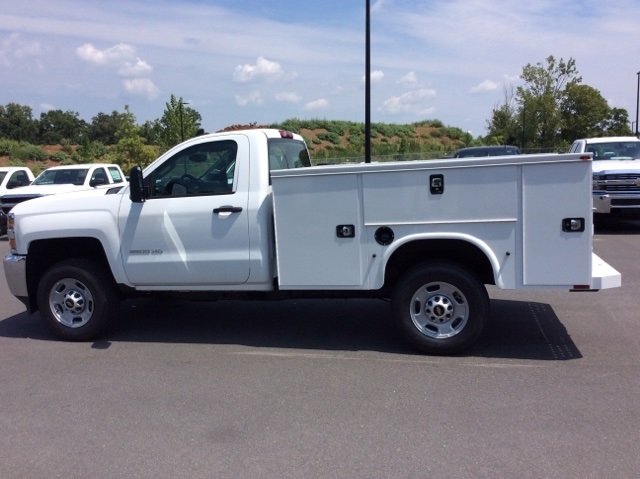 2017 Silverado 2500 Regular Cab 4x4, Knapheide Service Body #HZ329751 - photo 8