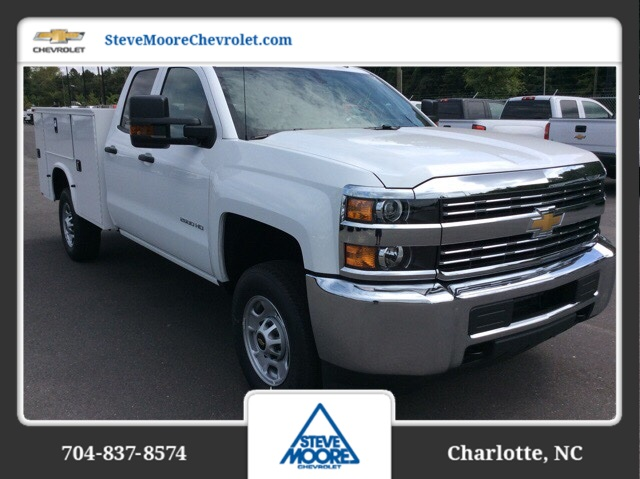 2017 Silverado 2500 Double Cab, Knapheide Service Body #HZ381214 - photo 3