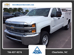 2017 Silverado 2500 Double Cab, Knapheide Service Body #HZ381214 - photo 1