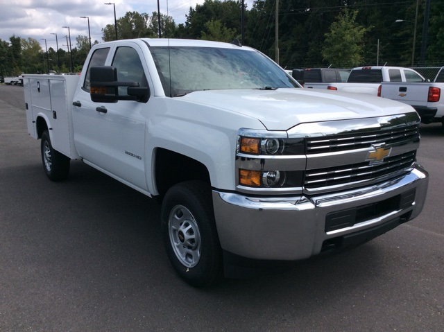 2017 Silverado 2500 Double Cab Service Body #HZ381442 - photo 3