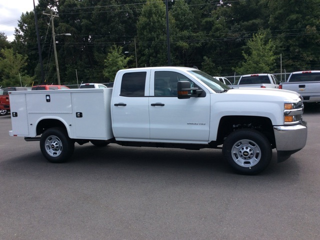 2017 Silverado 2500 Double Cab Service Body #HZ381442 - photo 4