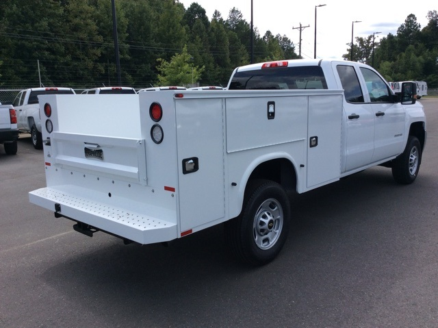 2017 Silverado 2500 Double Cab Service Body #HZ381442 - photo 5