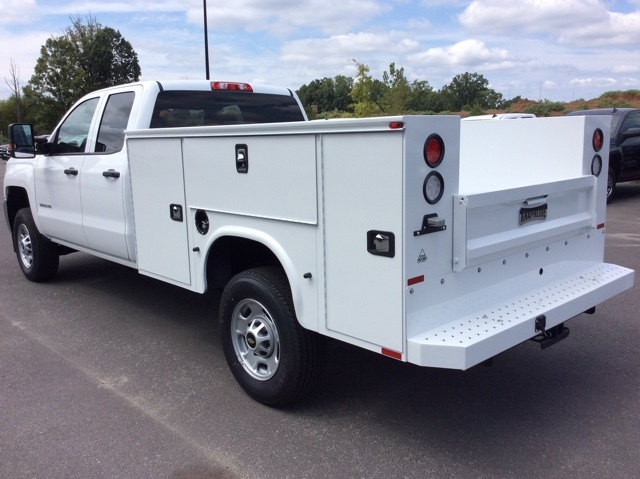 2017 Silverado 2500 Double Cab Service Body #HZ381442 - photo 2
