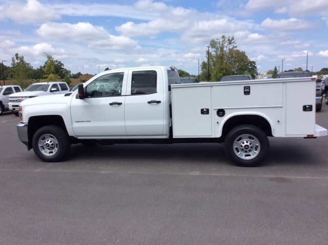 2017 Silverado 2500 Double Cab, Knapheide Service Body #HZ384337 - photo 8