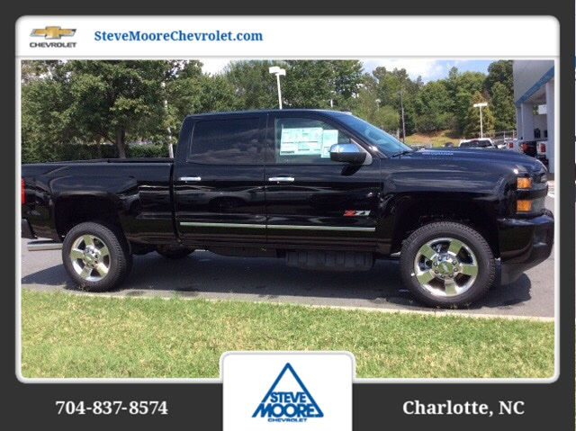 2018 Silverado 2500 Crew Cab 4x4, Pickup #JF121584 - photo 4
