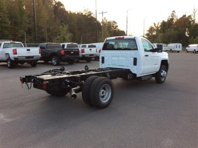 2018 Silverado 3500 Regular Cab DRW 4x4, Cab Chassis #JF137406 - photo 6