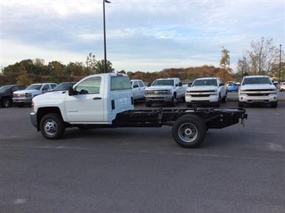 2018 Silverado 3500 Regular Cab DRW 4x4, Cab Chassis #JF137406 - photo 1