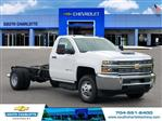 2018 Silverado 3500 Regular Cab DRW 4x4, Cab Chassis #JF137406 - photo 3